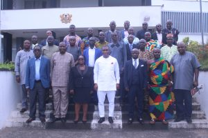 Deputy Minister for Lands and Natural Resources Inaugurates Reconstituted Western Regional Lands Commission.