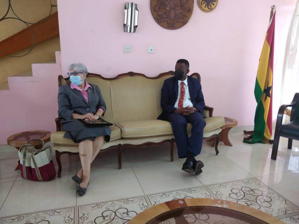 US AMBASSADOR TO GHANA VISITS WESTERN REGION